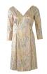Сукня з рукавами 3/4 і застібкою на спинці - фото 2