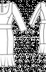 Сукня вузька з рукавами 3/4 - фото 3