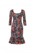 Сукня вузька з рукавами 3/4 - фото 2