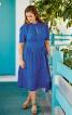 Сукня з пишною спідницею і вирізом крапелькою - фото 1