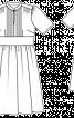 Сукня з пишною спідницею і вирізом крапелькою - фото 3