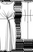 Сукня приталеного крою з драпіровкою - фото 3