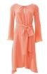 Сукня приталена з асиметричною спідницею - фото 2