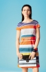 Сукня відрізна по талії з кишенями - фото 1