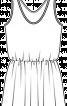 Сукня міні зі зборкою на талії - фото 3