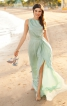 Сукня довга відрізна по талії - фото 1