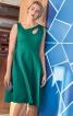 Сукня приталеного крою з широкою спідницею - фото 1