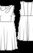 Сукня приталеного крою з широкою спідницею - фото 3