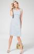 Сукня з рельєфними швами відрізна по талії - фото 1