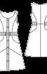 Сукня приталеного крою із наскрізною застібкою - фото 3