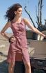 Сукня приталеного крою із наскрізною застібкою - фото 1