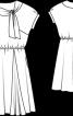 Сукня з куліскою на талії - фото 3
