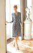 Сукня приталеного крою з виточками на талії - фото 1