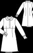 """Сукня міні з коміром """"Пітер Пен"""" - фото 3"""