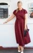 Сукня зі спідницею розкльошеного крою - фото 1