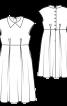 Сукня зі спідницею розкльошеного крою - фото 3
