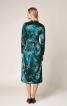 Сукня оксамитова з призбореною спідницею - фото 5