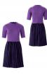 Сукня відрізна з напівдовгими рукавами - фото 2