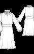 Сукня з пишними рукавами і буфами - фото 3