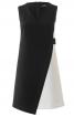 Сукня міні з контрастними деталями - фото 2