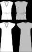 Сукня максі з рукавами-крильцями - фото 3