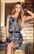Сукня прямого крою з рукавами реглан - фото 1