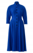 Сукня із застібкою поло з Burda 1955 - фото 2