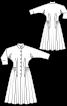Сукня із застібкою поло з Burda 1955 - фото 3