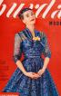 Сукня із застібкою поло з Burda 1955 - фото 5