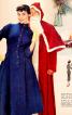 Сукня із застібкою поло з Burda 1955 - фото 6
