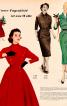 Сукня із застібкою поло з Burda 1955 - фото 7