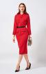 Сукня вінтажна з обкладинки Burda 1/1957 - фото 1