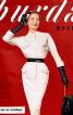 Сукня вінтажна з обкладинки Burda 1/1957 - фото 6