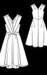Сукня коктейльна з Burda Moden 7/1957 - фото 3