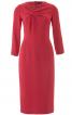 Сукня вузька з драпіровкою на ліфі - фото 2
