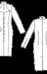 Сукня вузького крою з широким декольте - фото 3