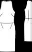 Сукня коктейльна із тканини з пайєтками - фото 3