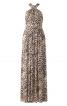 Сукня довга з бретеллю-петлею - фото 2