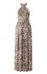 Сукня довга з бретеллю-петлею - фото 4