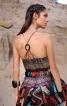 Сукня максі з американською проймою - фото 5