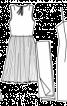 Сукня з гофрованою спідницею і чохол (1965) - фото 3