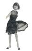 Сукня з гофрованою спідницею і чохол (1965) - фото 5