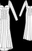 Сукня з глибоким декольте - фото 3