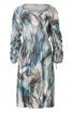 Сукня приталеного крою з призбореними рукавами - фото 2