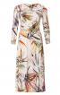 Платье трикотажное с драпировками - фото 2