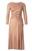 Сукня відрізна з драпіровками - фото 2