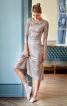 Сукня відрізна з драпіровками - фото 1