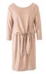 Сукня трикотажна з драпіровкою на талії - фото 2
