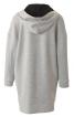 Сукня міні трикотажна з капюшоном - фото 4