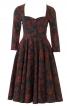 Сукня з ліфом-корсажем і вирізом-сердечком - фото 2